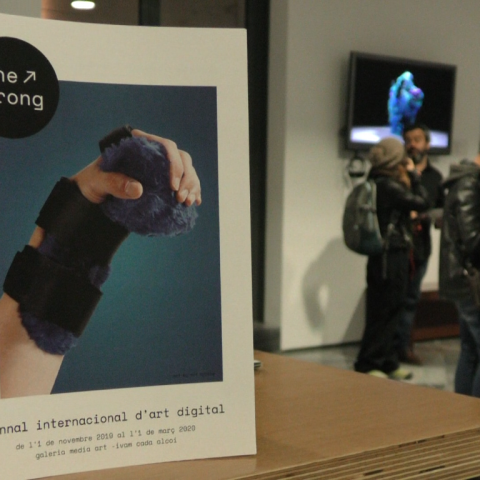 Inaugurada la biennal d'art digital 'The Wrong' a l'IVAM CADA Alcoi