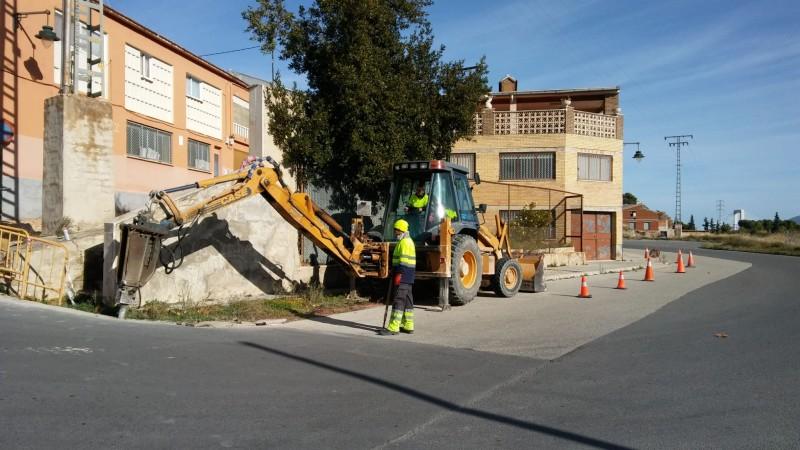 Els treballs d'asfaltament ja han començat.