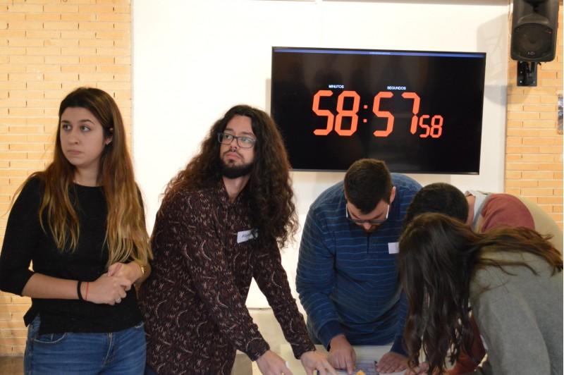 La sessió ha tingut lloc a la sala Multiusos del Campus.
