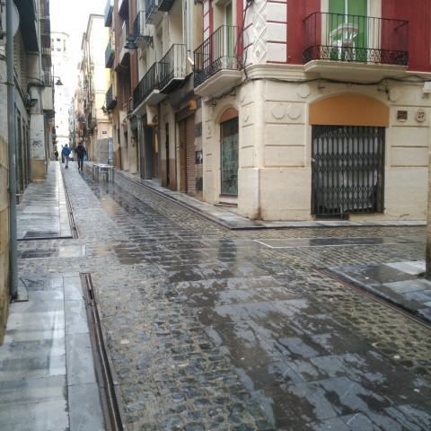 Carrer Sant Francesc d'Alcoi.