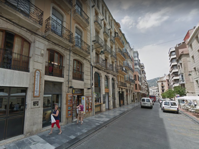 Carrer Sant Llorenç d'Alcoi.
