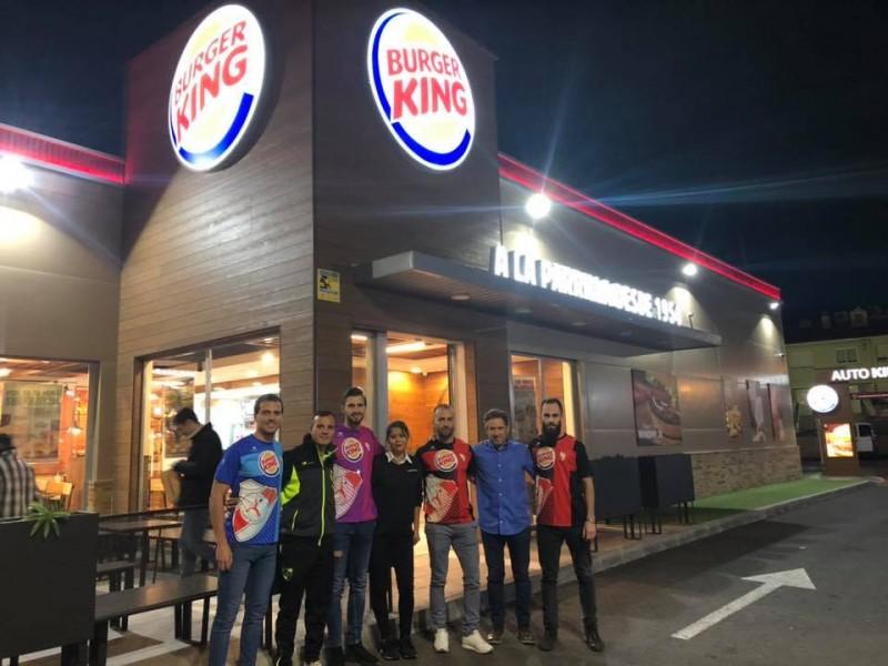 Presentació a Burger King / CFC Ciutat Alcoi