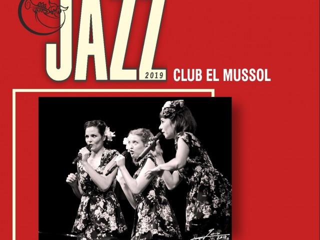 Remei per a la ressaca de Nadal: Concert de Jazz amb les Dómisol Sisters