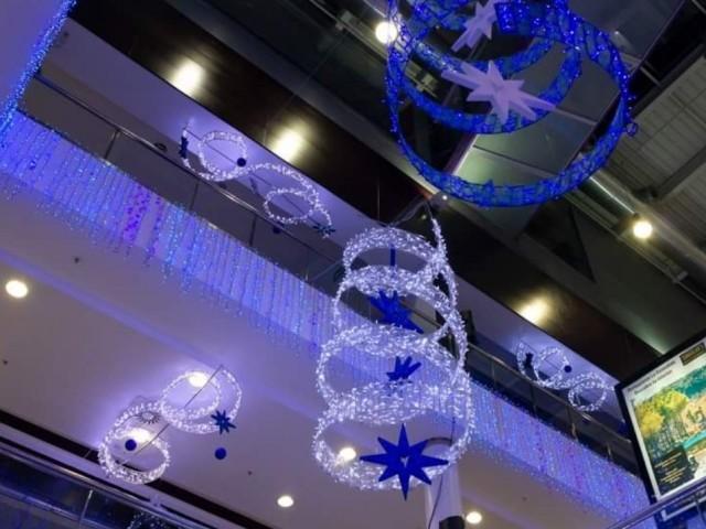 Decoració nadalenca al Centre Comerial Alzamora