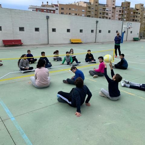 Sessió de jocs al col·legi Horta Major.