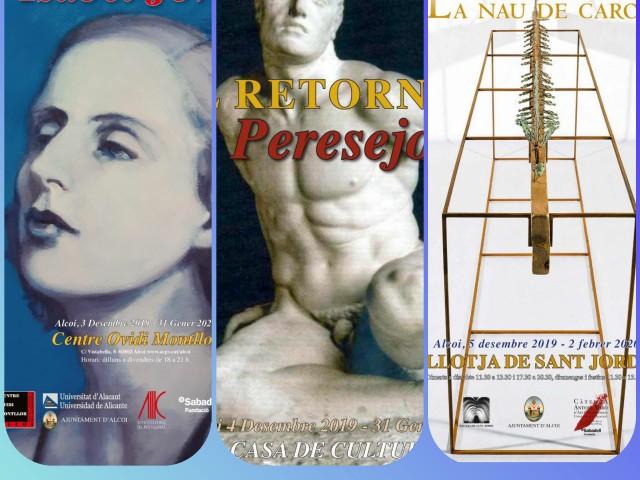LesesculturesdePeresejo, en una exposició retrospectiva a Alcoi