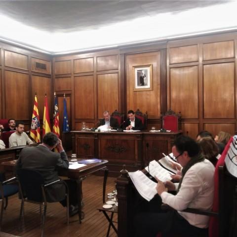 Suspés el plenari d'aquest divendres en l'Ajuntament d'Alcoi