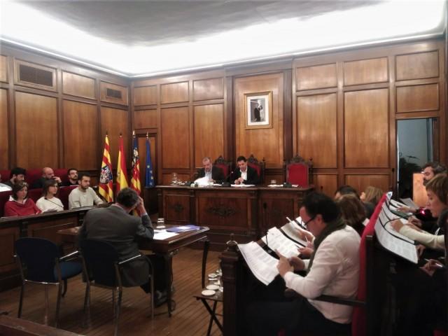 Plenari municipal celebrat aquest 9 de desembre.