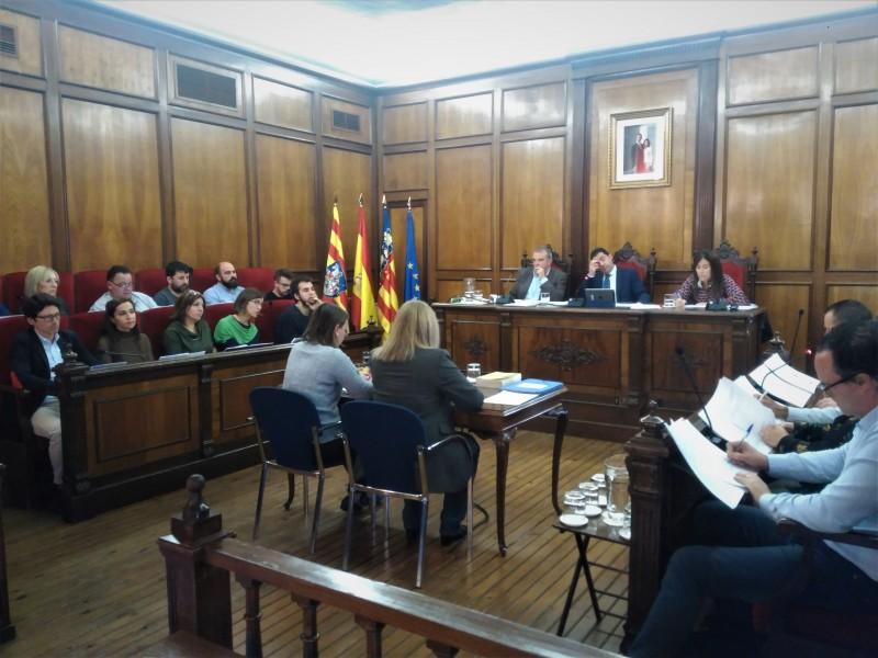 Plenari del 4 de novembre, on s'ha aprovat la moció presentada per Guanyar Alcoi.