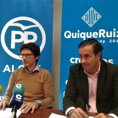Quique Ruiz i Fernando Pastor anuncien esmenes als pressupostos de la Generalitat 2020.