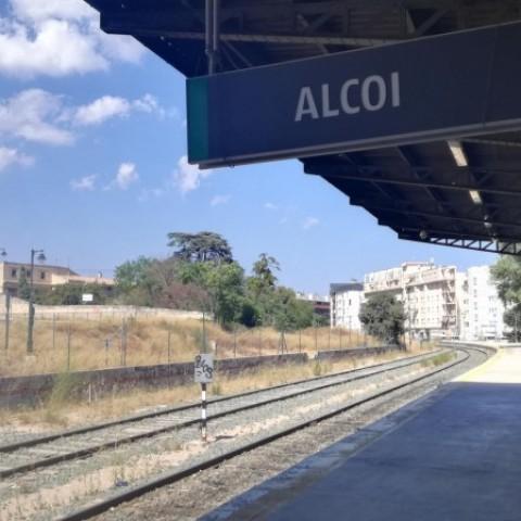 Estació ferroviària d'Alcoi.