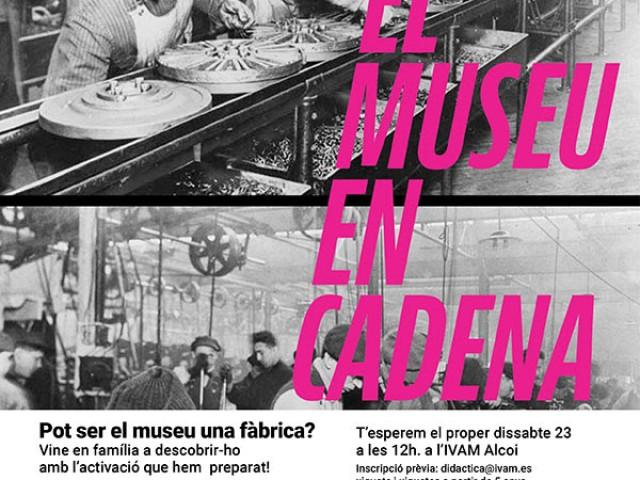 L'IVAM CADA convida a les famílies a descobrir el Museu en Cadena