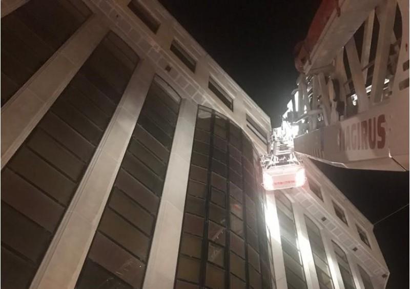 Façana de l'edifici Alcoy Plaza.