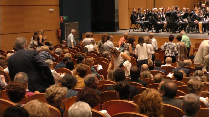 Pati de butaques del Teatre Calderón durant la recent cerimònia dels premis 9 d'octubre.