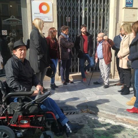 """Pep Fuster, d'AVANZAR: """"Una ciutat, si no és accessible, margina a un grup important de persones"""""""