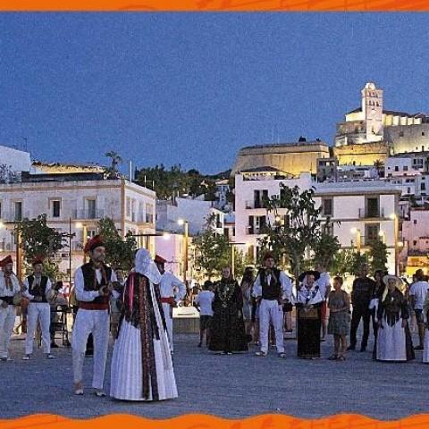 Imatge de la Mostra Folklòrica Ciutat d'Eivissa