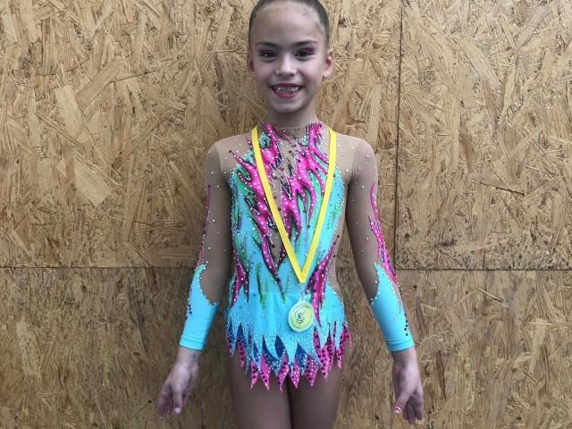 Elsa Navarro, gimnasta del C.G.R. Alcoi