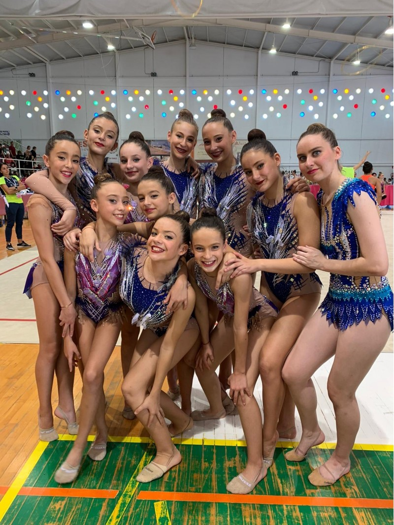 Gimnastes del G.G.R Sant Jordi