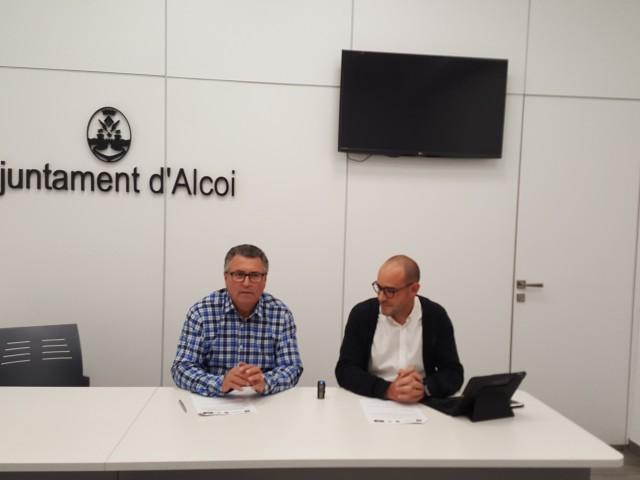 Miguel Juan Reig i Juan Antonio Montes / Ajuntament d'Alcoi
