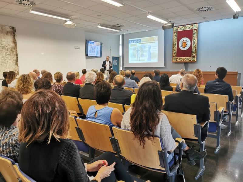 Inauguració de l'exposició / Rotary Club Alcoi Font Roja