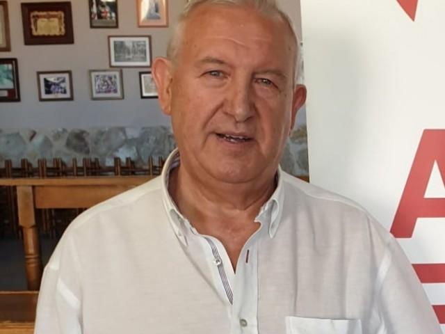 Romualdo Coderch, qui ha sigut l'últim any coordinador de Ciutadans Alcoi i que ara ha dimitit junt a la resta de la Junta Directiva.