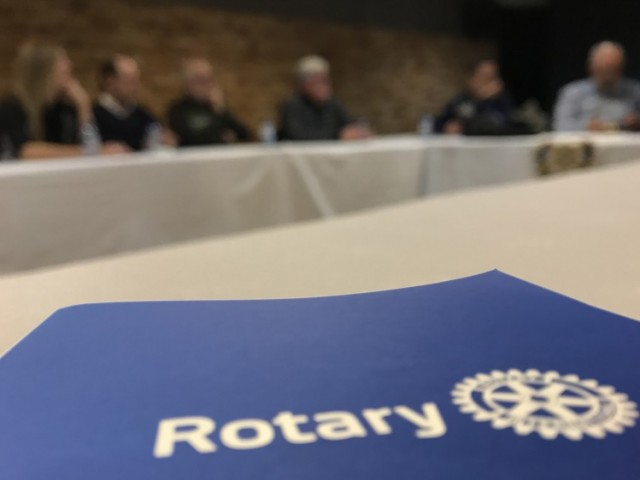 Logo de Rotary / Rotary Club Alcoi Font Roja