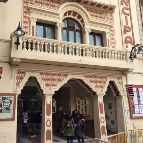 Façana del Teatre Principal