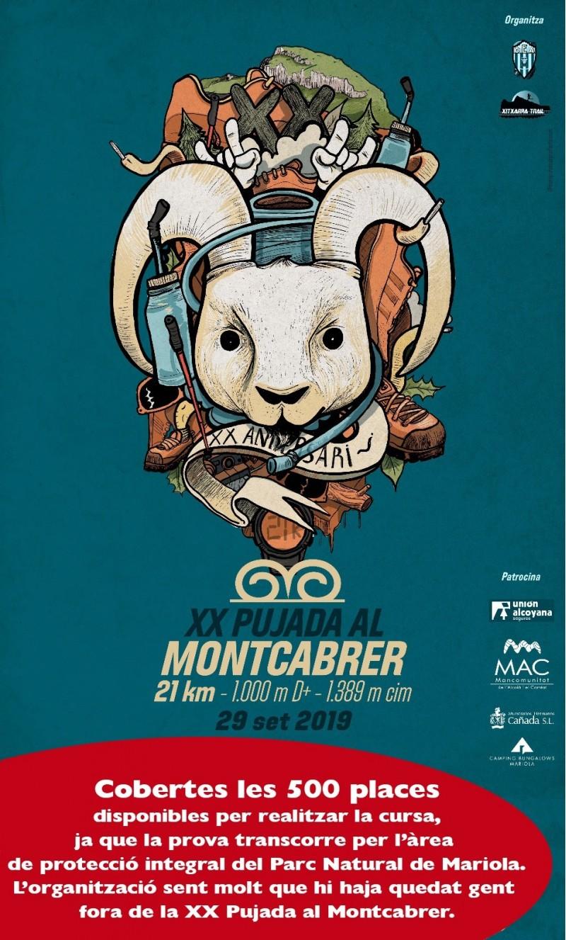 Cartell XX Pujada al Montcabrer