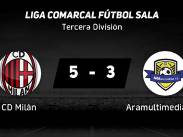 L'ARAMULTIMÈDIA F.S. comença la lliga amb derrota (5-3)