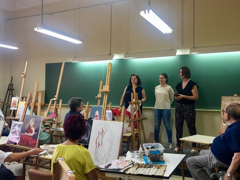 Curset organitzat a les aules de la tercera edat d'Alcoi