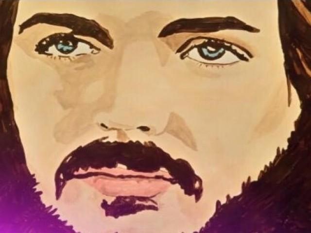Camilo Sesto retratat per AnaMªRuiz