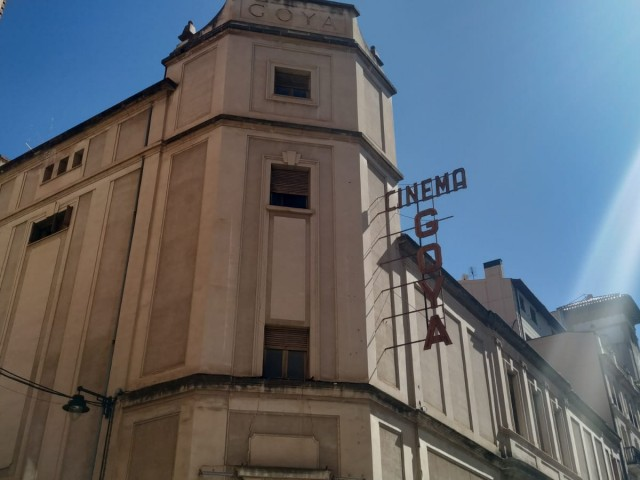 L'extremeny Daniel Muñoz projectarà el seu art sobre la façana del Goya situada enfront de l'IVAM-CADA.
