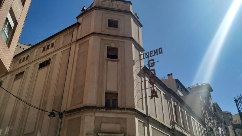 Façana del Cinema Goya