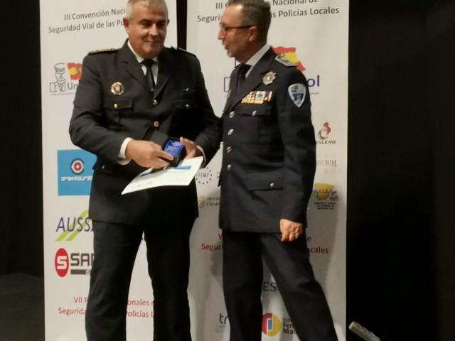 La Policia Local d'Alcoi guanya un Premi Nacional a les Bones Pràctiques en Seguretat Viària