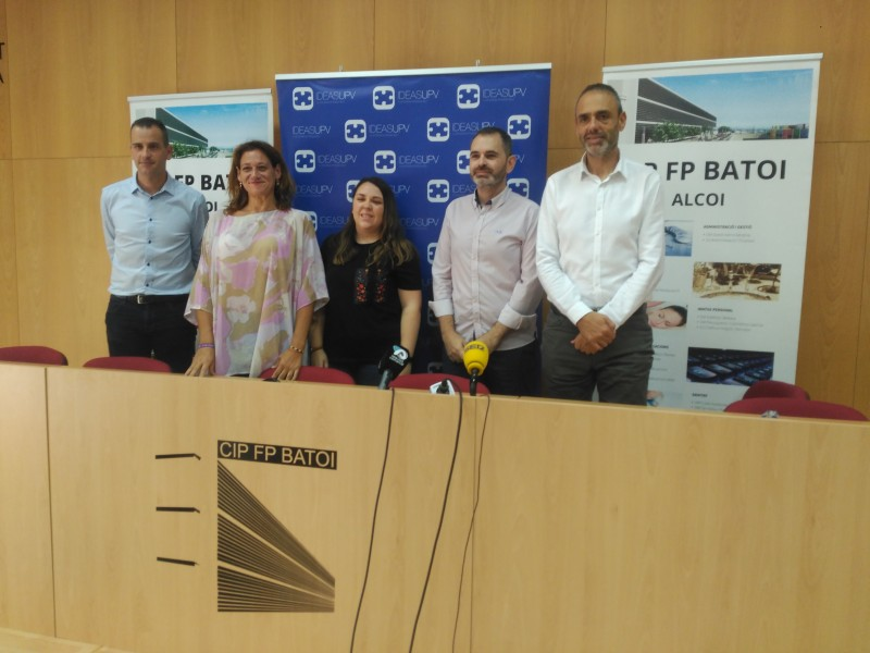 Presentació del concurs al CIP FP Batoi