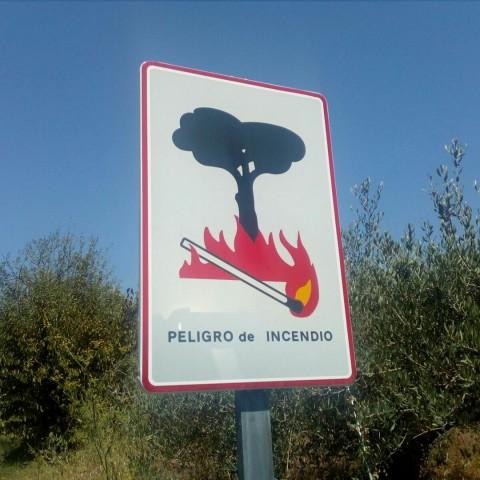 Senyal de prohibició de cremes / ACIF Alcoi