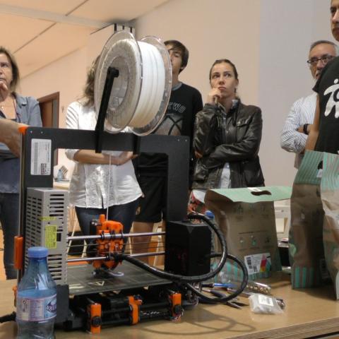 L'IVAM-CADA Alcoi obri la porta a la impressió 3D