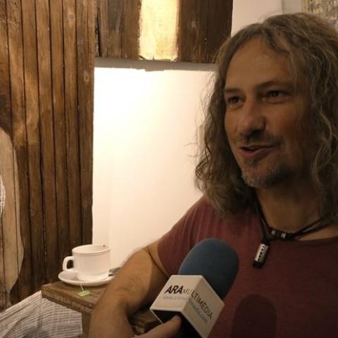Javier Pérez Vaquer en l'entrevista a ARAMULTIMÈDIA