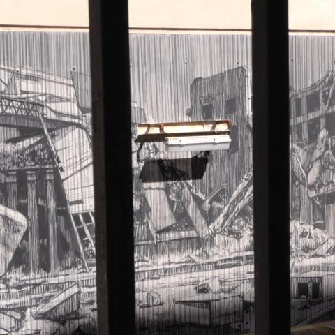 Alcoi Urban Skills: L'autor del mural del Goya ens explica el seu disseny