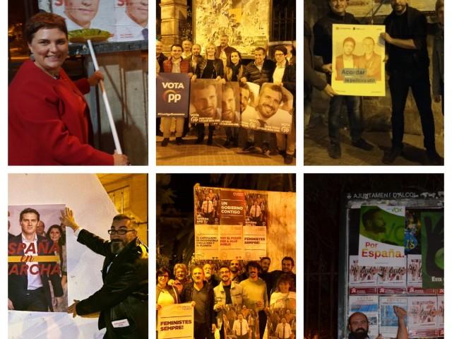 La matinada de Tots Sants marca l'inici de la cursa electoral per al 10N