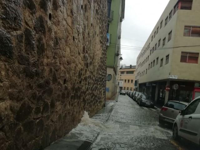 La pluja aquest mes de setembre a Alcoi