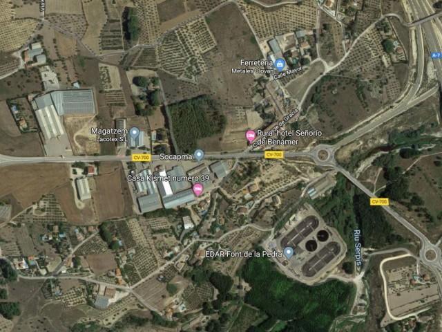 Sector PI2 de Muro, zona per on s'ha estudiat la viabilitat del polígon mancomunat.
