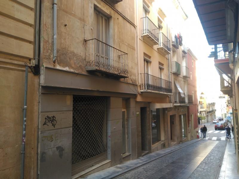 Façana al carrer Sant Francesc.