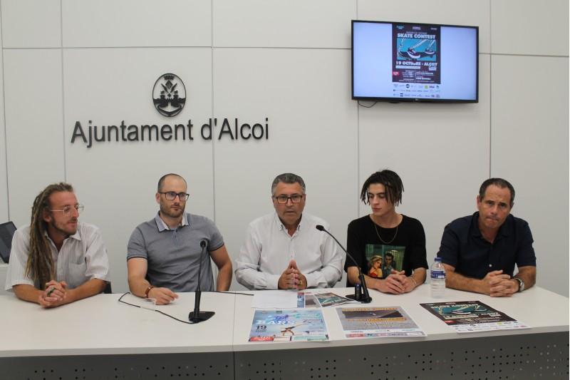 Presentació de la tercera edició d'Urban Skills Alcoi.