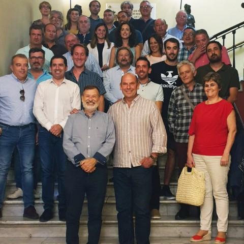 Actuals representants de la Mancomunitat de l'Alcoià-Comtat.