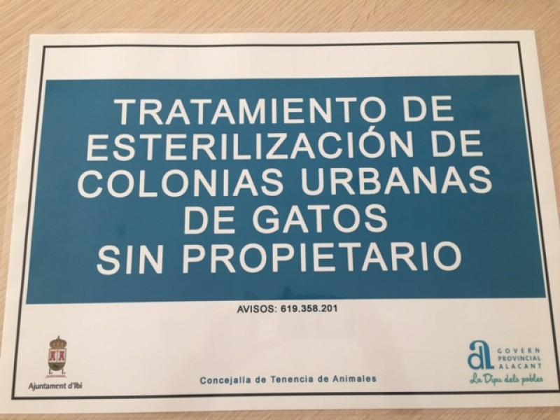 Cartell d'informació / Ajuntament d'Ibi