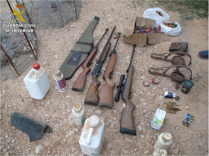 Armes confiscades