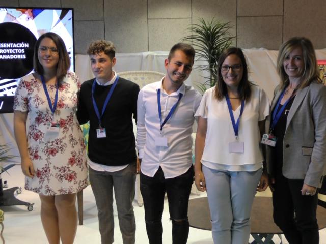 Borja Salido i Mª Cristina Puchades guanyadors del 3r concurs Home Textiles Premium