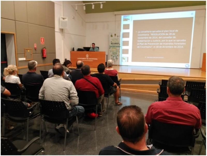 IV Jornades per a la Sostenibilitat de Cocentaina. Presentació de l'inici de la revisió. David Belda. Tècnic Redactor