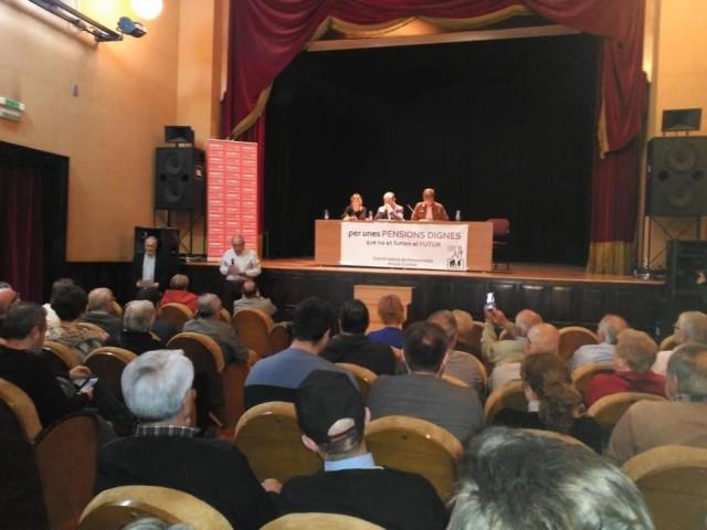 CCOO exposa en Alcoi les seues propostes en matèria de pensions